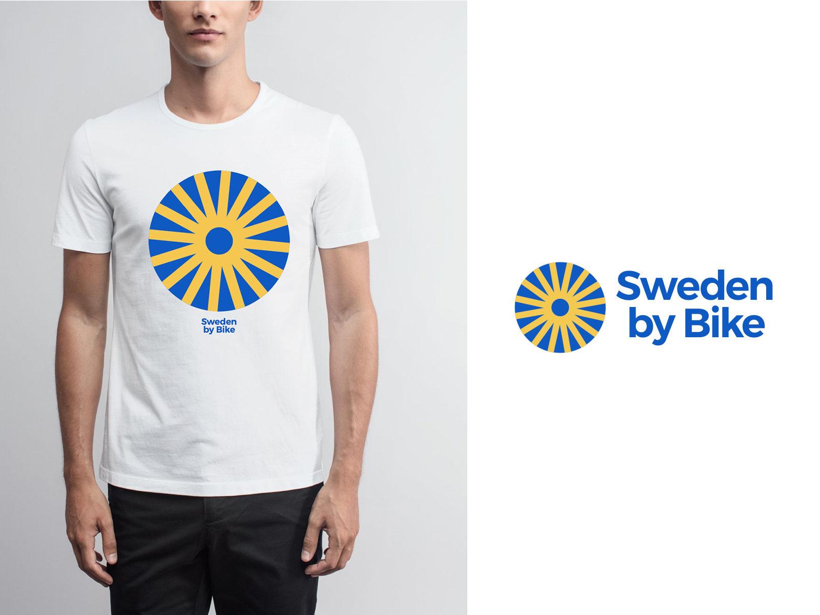 Sweden by Bike - ny logotyp