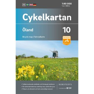 Bicycle map 10 Öland cover