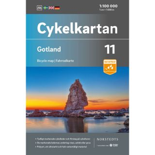 Bicycle map 11 Gotland cover