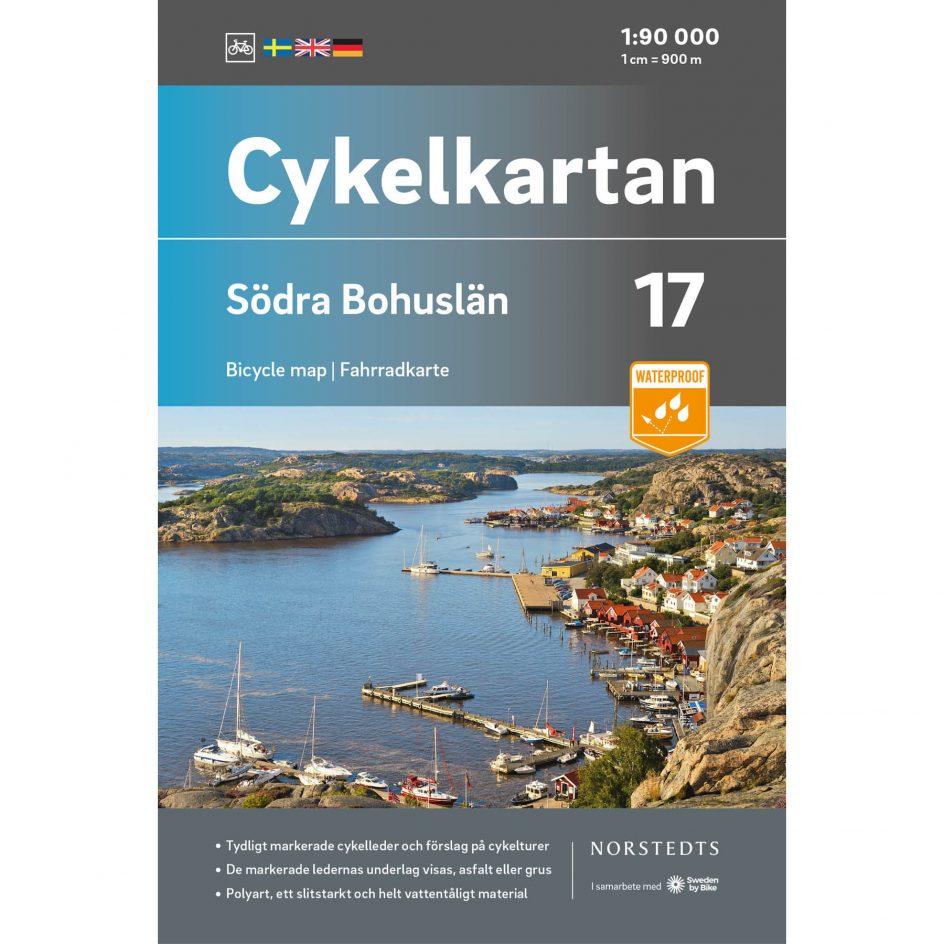 Cykelkarta 17 Södra Bohuslän omslag