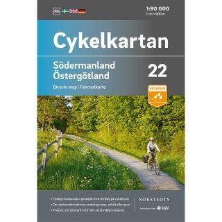 Cykelkarta 22 Södermanland Östergotland omslag