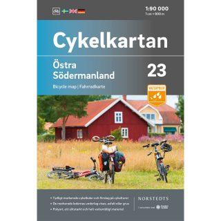 Cykelkarta 23 Östra Södermanland omslag