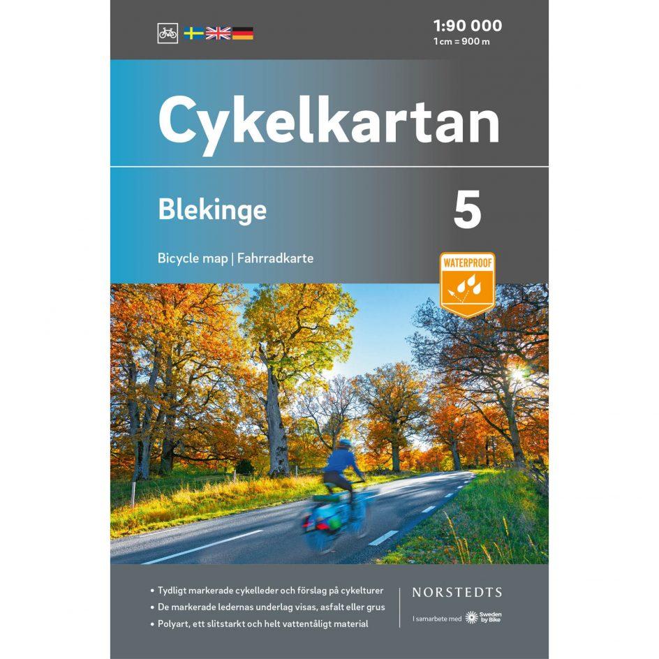 Cykelkarta 5 Blekinge omslag