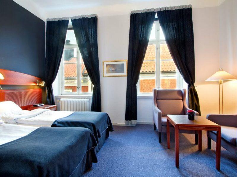 Arboga Stadshotell double room