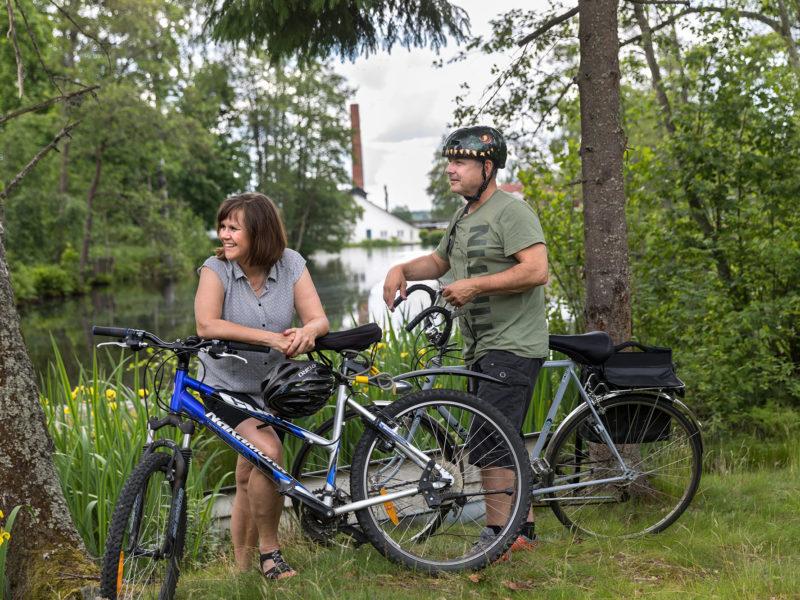 Cycling tour Köping