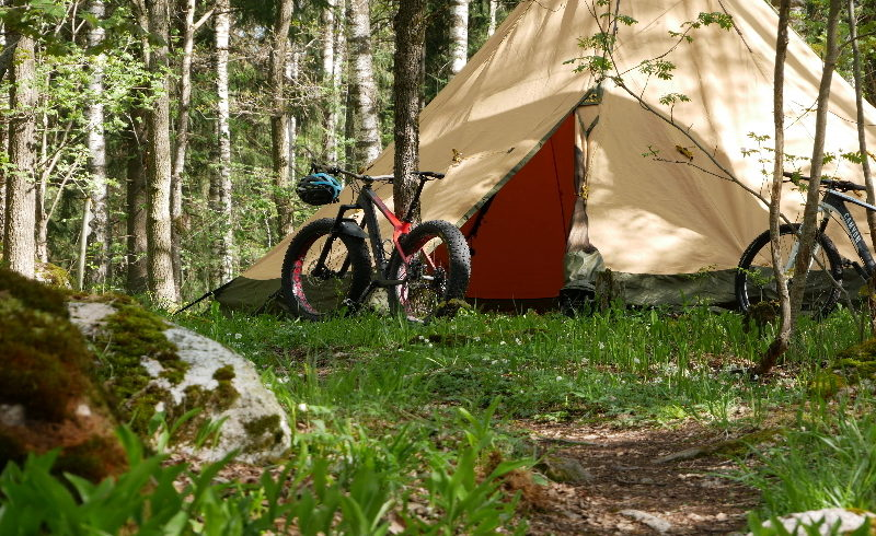 Bike MTB with guide westmanland