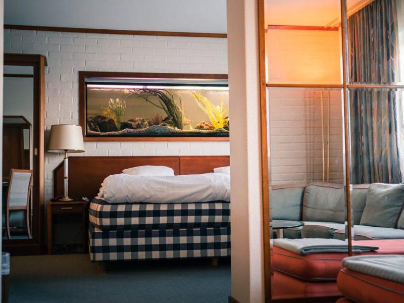 Hotel Scheele Köping interior dubbelrum