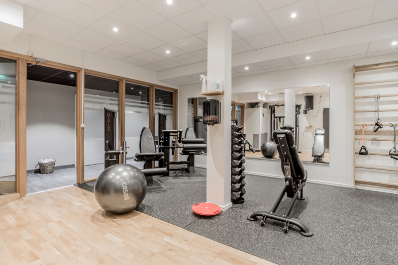 Relax and exercise at the Blommenhof Hotel