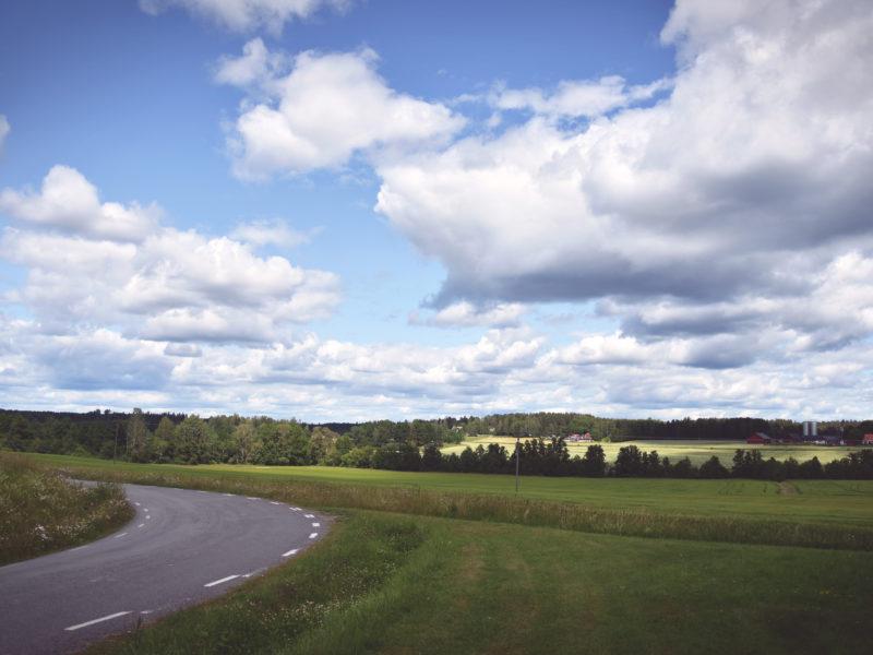 View between Bro and Kolsva