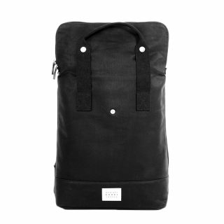 City Backpack Black front expanded