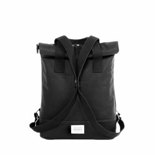 City Backpack Black front snapped