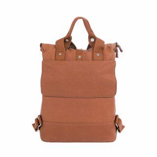 City Backpack Cognac back flap