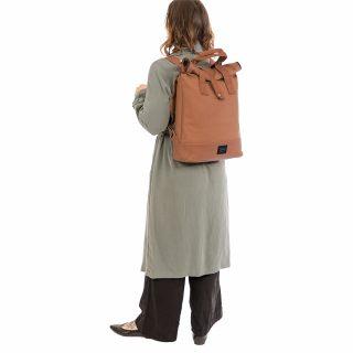 City Backpack Cognac model bkpk