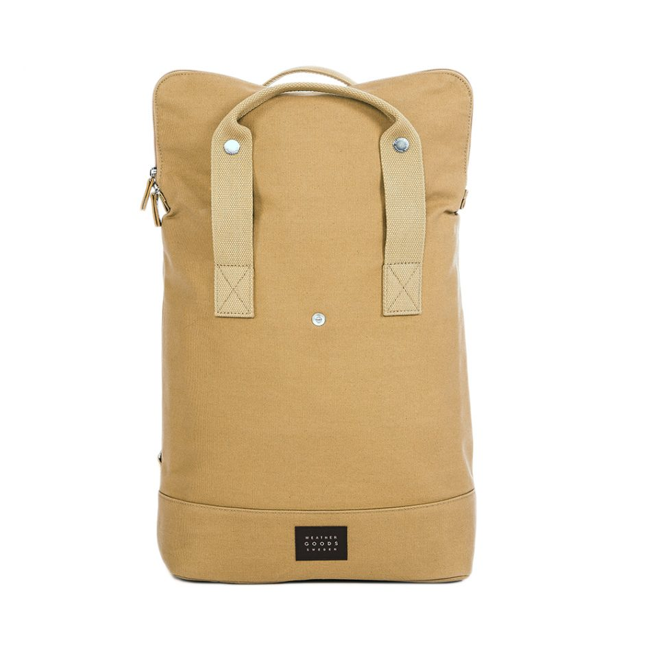 City Backpack Sand front expanded
