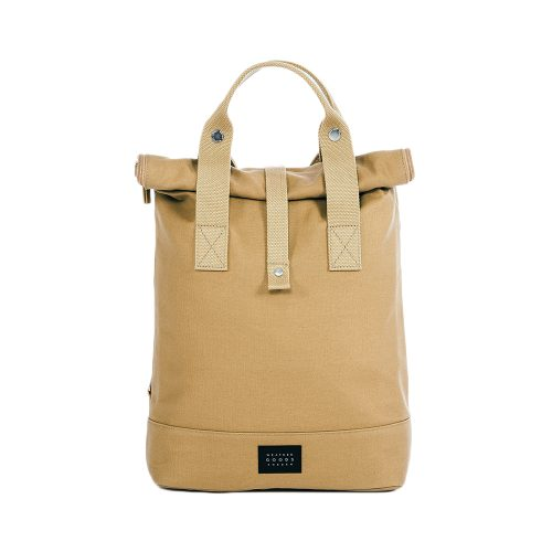 City Backpack Sand front
