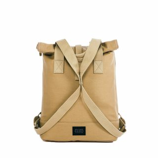 City Backpack Sand front snapped