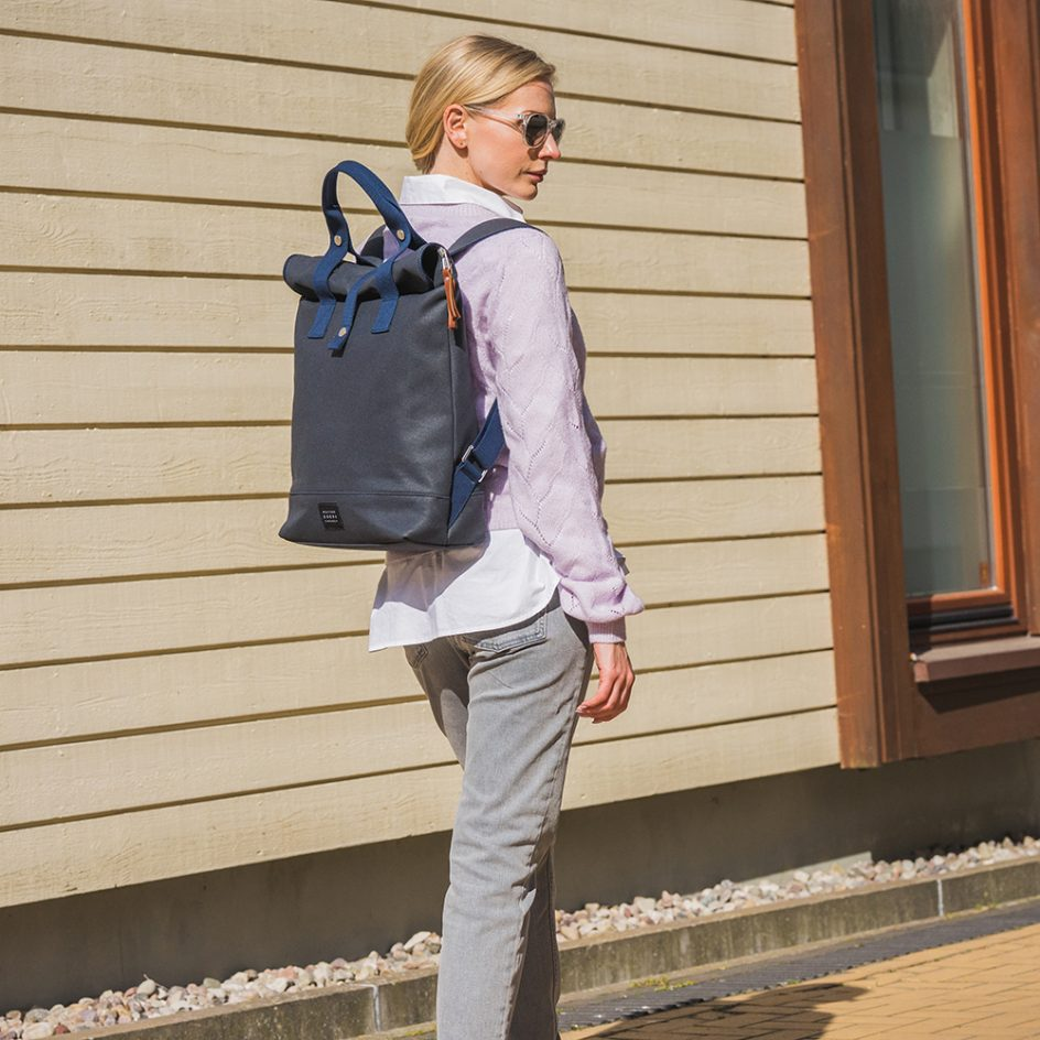 City Backpack Navy 3