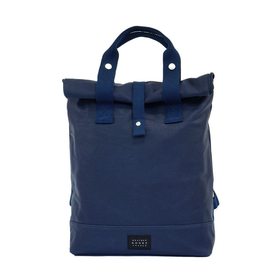City Backpack Navy front
