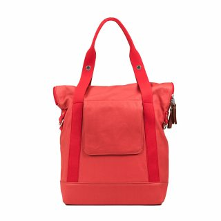City Tote Coral back