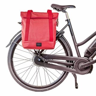 City Tote Coral bike front