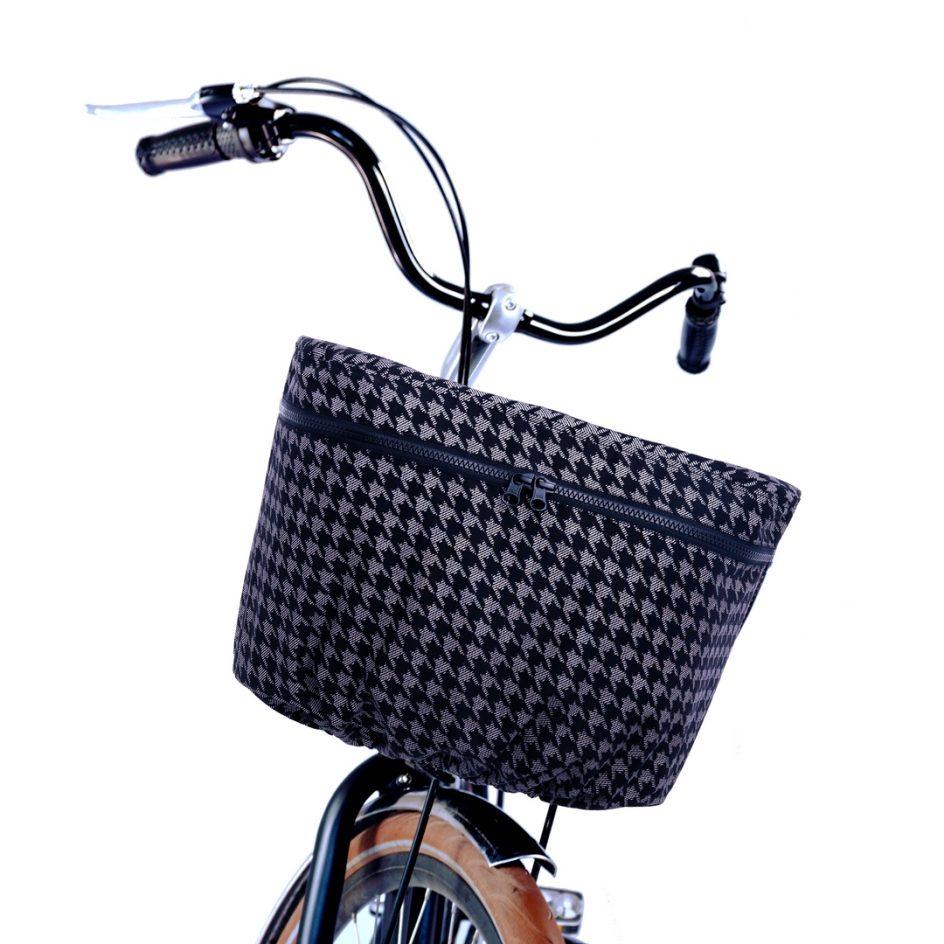 Luna Rain Cover Bicycle Basket Check bike 2