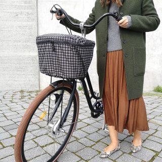 Luna Rain Cover Bike Basket Front Check 1