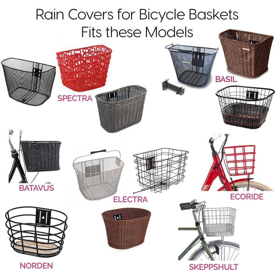 Luna Rain Cover Bike Basket Front Check models fit