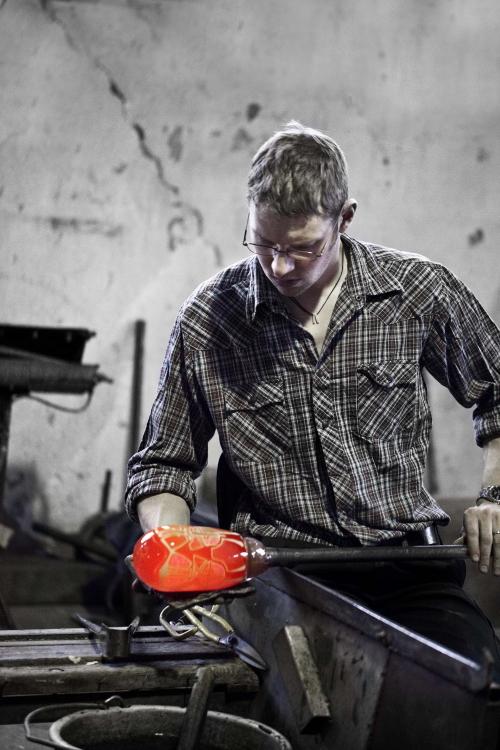 The glassblower Petter Jonasson