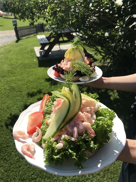 Lunch at Ängsöfiskaren Västerås