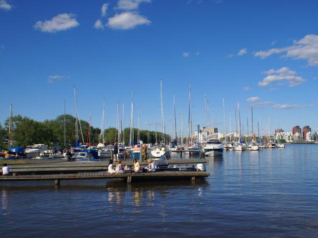 Västerås harbor