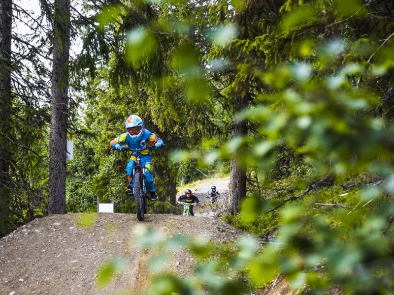 Cycling in Lofsdalen Bike Park2