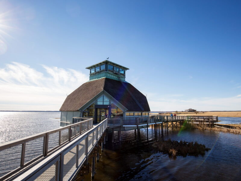 Naturum at Hornborgasjön - Photo Cred Roger Borge2