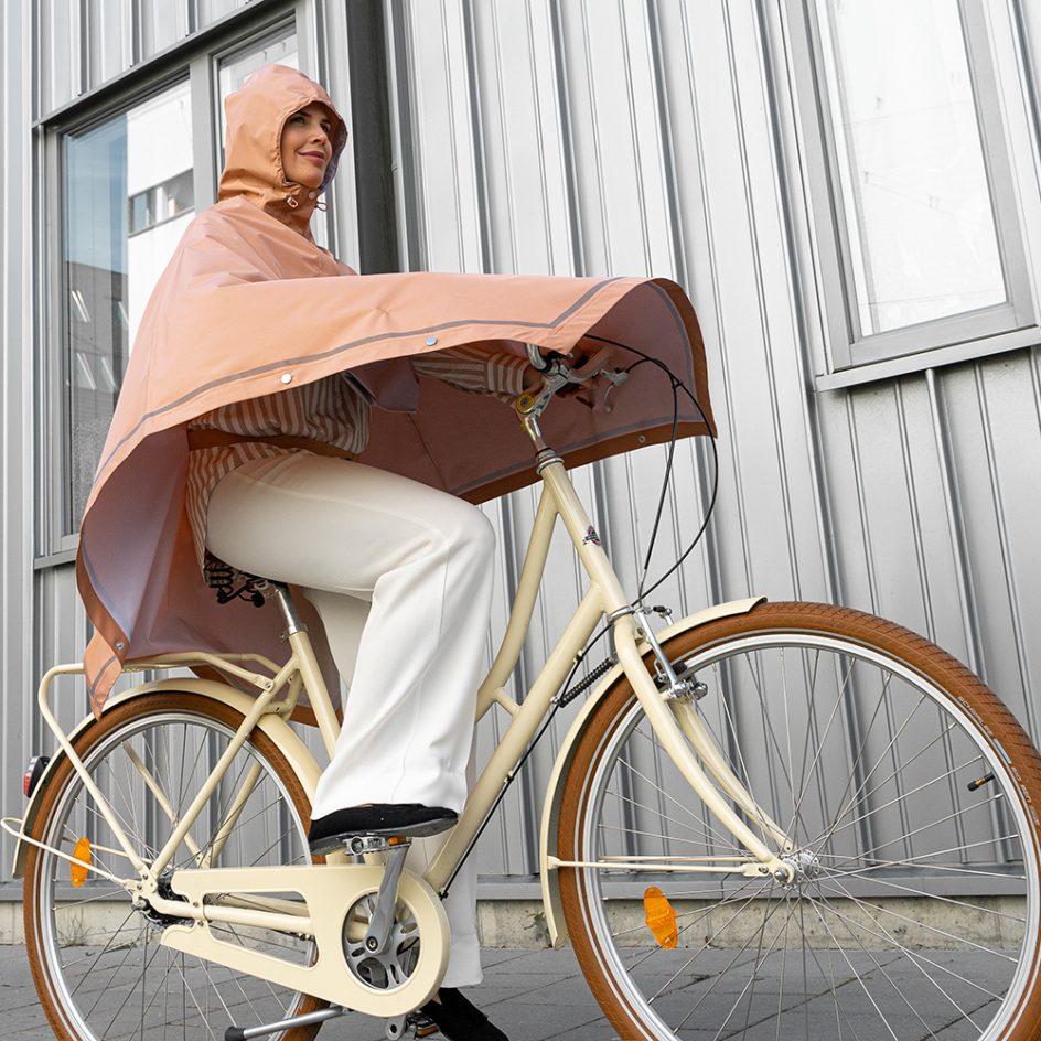 Imbris regnponcho persika - cycling