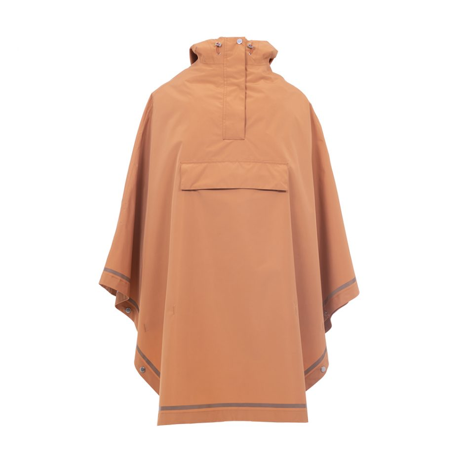 Imbris regnponcho persika - front