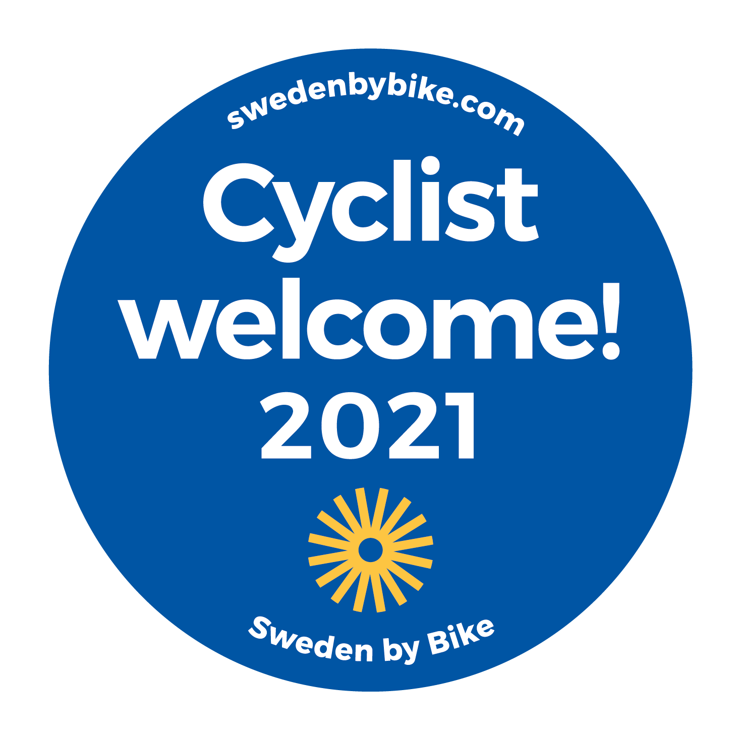 Cyclist welcome!