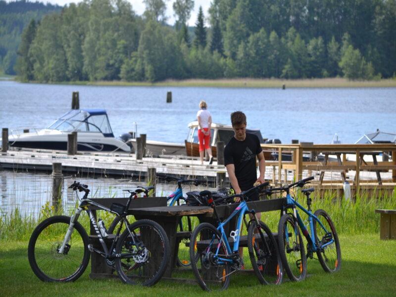 The mill in Borgvik bikes2