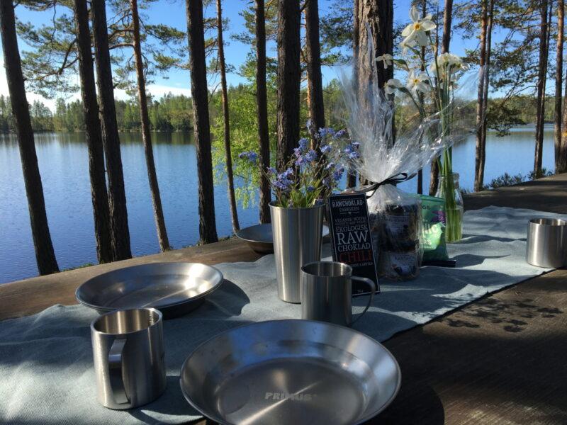Kvarnen i Borgvik - måltid utomhus2