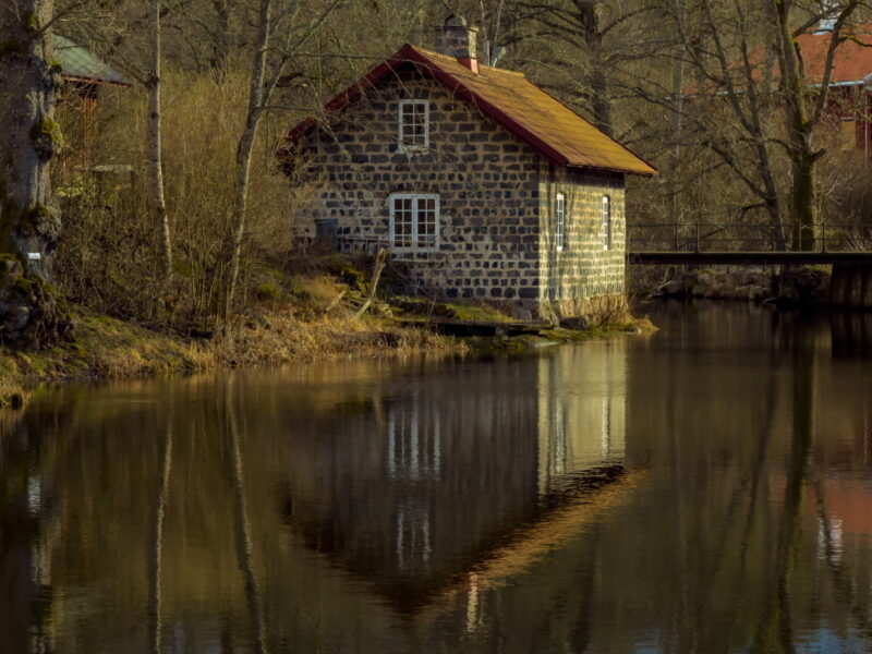 The mill in Borgvik - by the water2