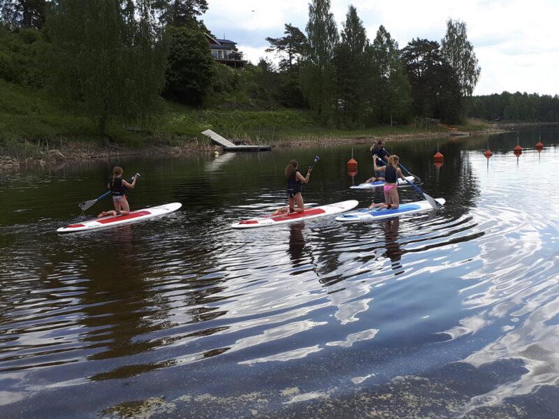 Töcksfors camping paddle
