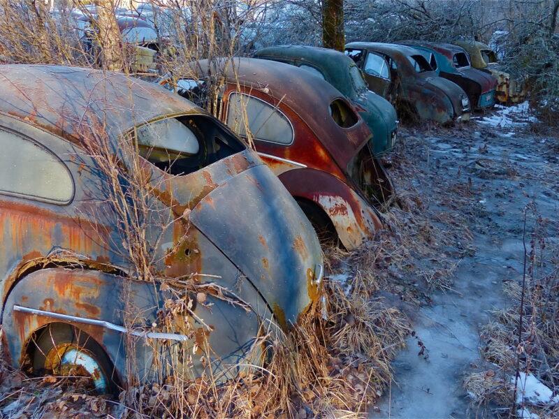 Töcksfors camping_bilkyrkogården