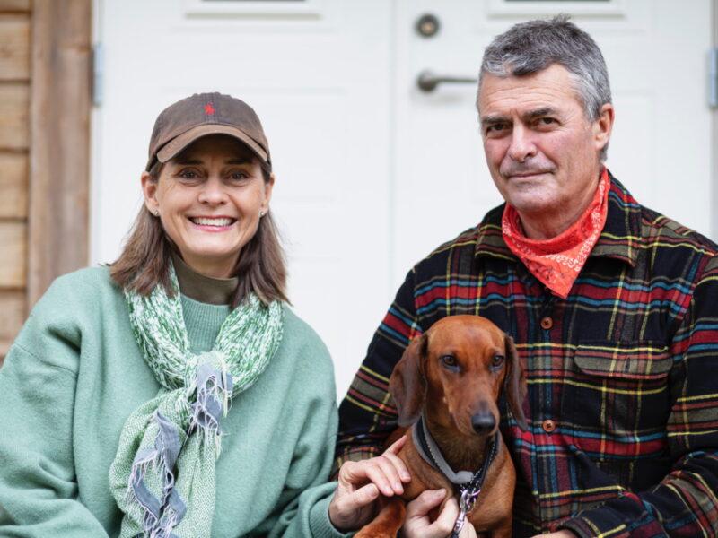 Marika Griehsel och Simon Stanford