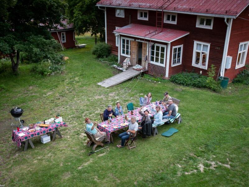 Mogården barbecue dinner2