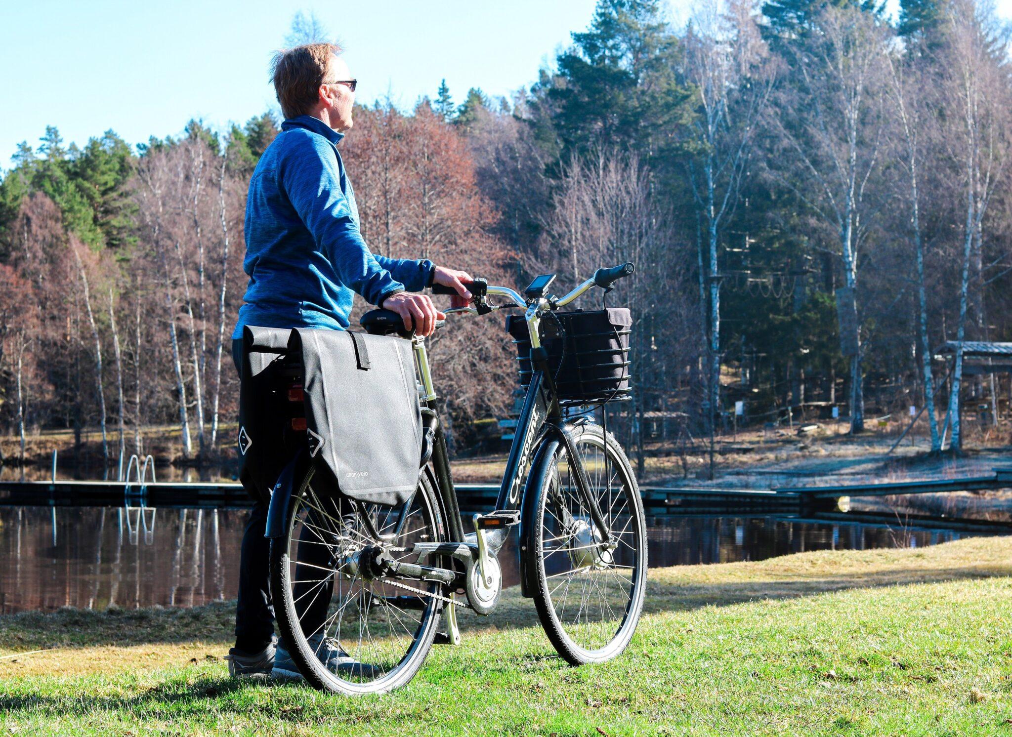 Elcykel i Östergötland