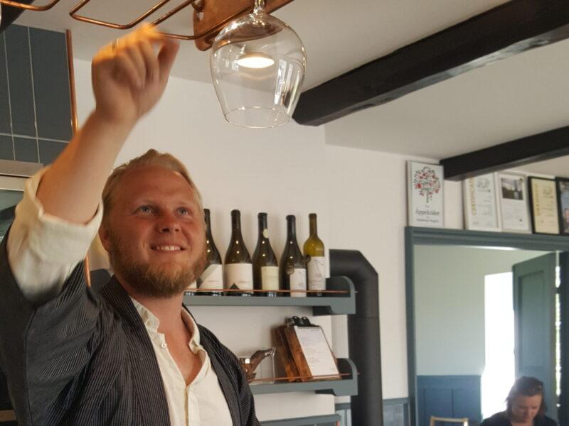 Felix K Åhrberg, vinmakare på Kullabergs Vingård2