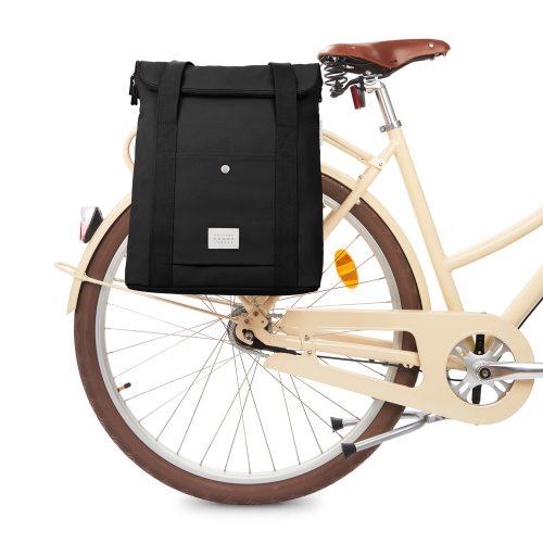 City Bikepack XL - svart - bike front
