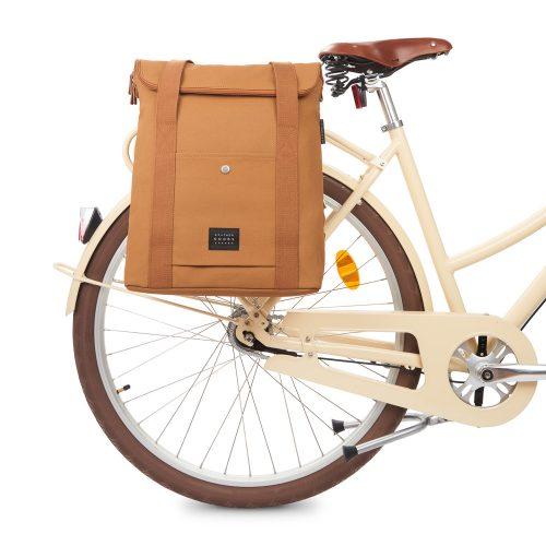 City Bikepack XL - cognac - bike front