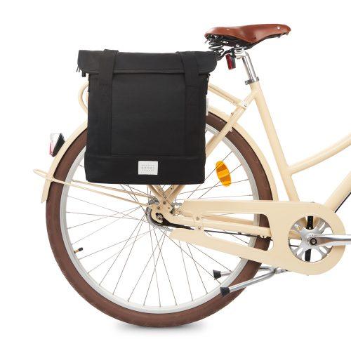 City Bike Tote - svart - bike front