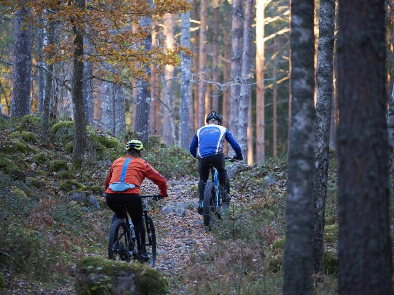 Cykla mtb i eskilstuna-vilsta-odlaren