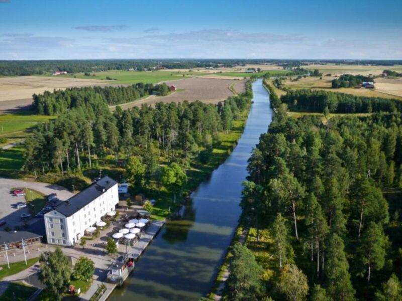 Flygfoto Norrqvarn Hotell