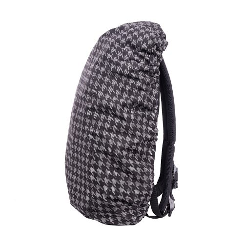 Luna Multiuse Reflective Raincover Check - backpack